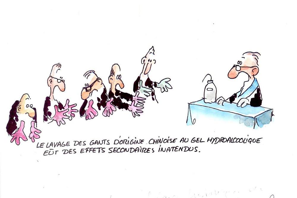 Cartoon: #COVID19 | Franc-Maçonnerie |  @François Morel