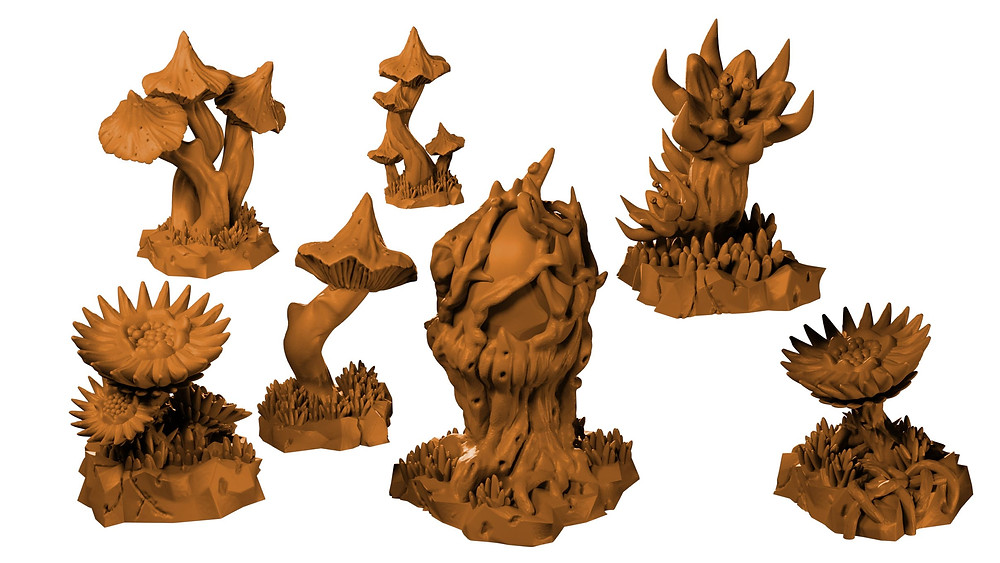 Enchanted forests and alien worlds project from Mystic Pigeon Gaming