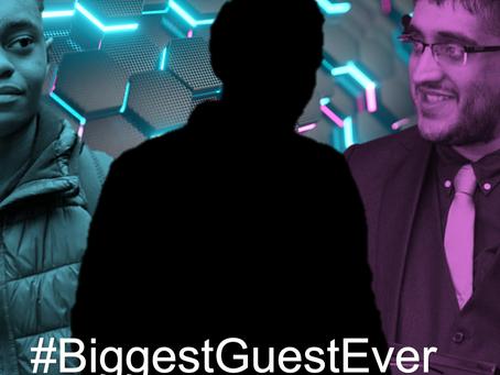 The AlphaApps tease #BiggestGuestEver on SOMEDAY Podcast
