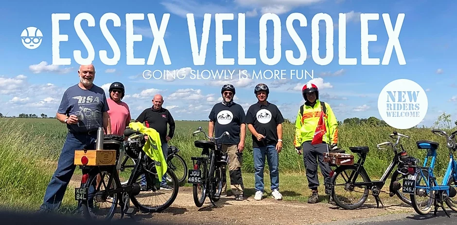 SX VeloSolex have re-started their ride programme