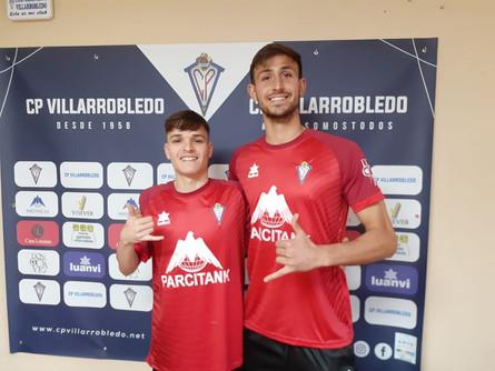 Mauro y Alex Valerio, ya lucen la camiseta de su nuevo club
