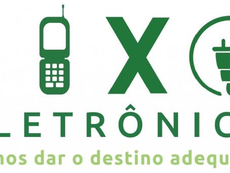 Município organiza campanha para recolher eletrônicos
