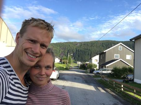 Regitse brukte ferien til å oppleve Nord-Norge