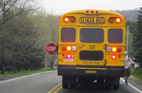 Let's handle the school bus issue with splendid ways !