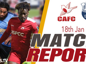 Match Report - Wingate & Finchley