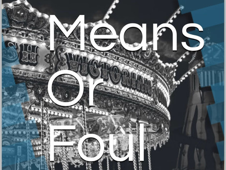 Book Cover revealed for Fair Means Or Foul