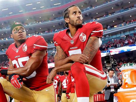 »Verjemi v nekaj!«: Kaepernick in protesti ameriških športnikov