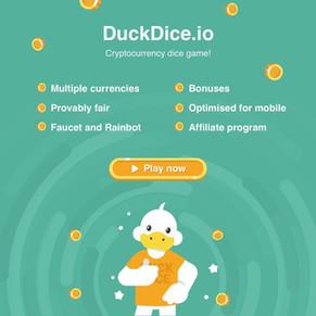 DuckDice Provably Fair Dice with 1 percent house edge