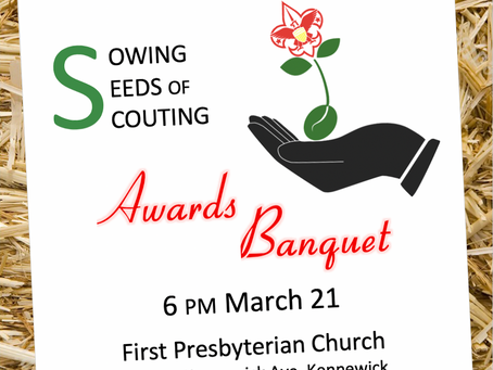 District Awards Banquet—to be RESCHEDULED