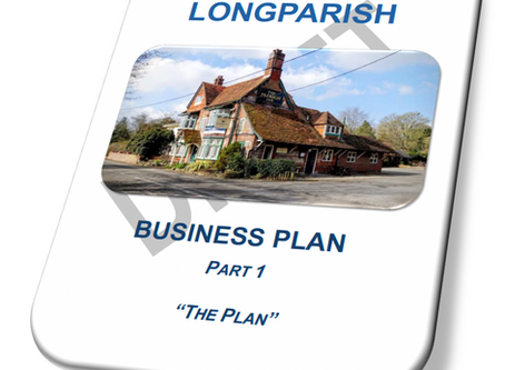 Draft Business Plan published