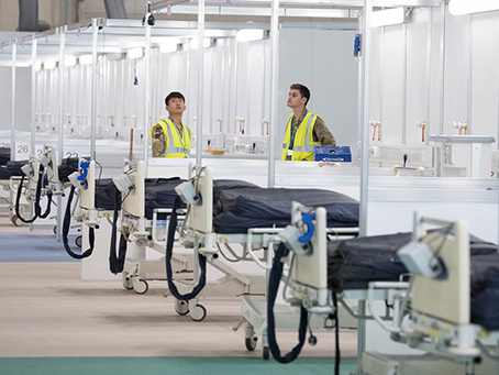 Temporary hospitals are rife with cyber security vulnerabilities