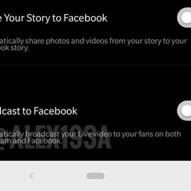 Instagram test mogelijkheid Live gelijk te streamen op Facebook