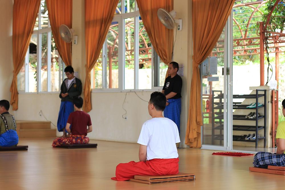Retret Meditasi Desember 2017 di Bakom, Cianjur