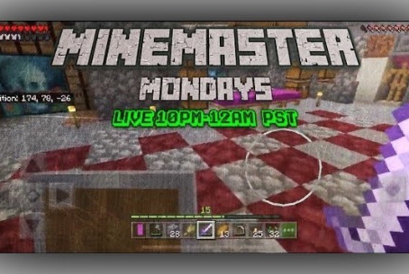 MineMaster Monday Livestream TONIGHT!!! (Ep. XIV)