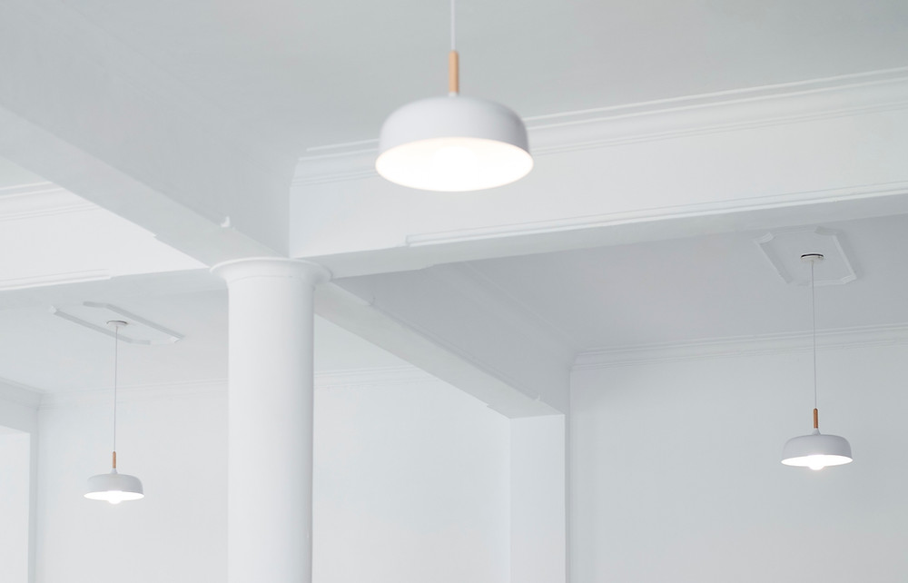 Lights being controlled by Lutron