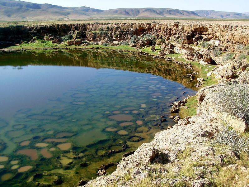 Lacs salés en couleurs Yemen