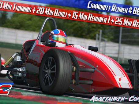 rF2-CR66 | Formula Vee @ Imola 2018