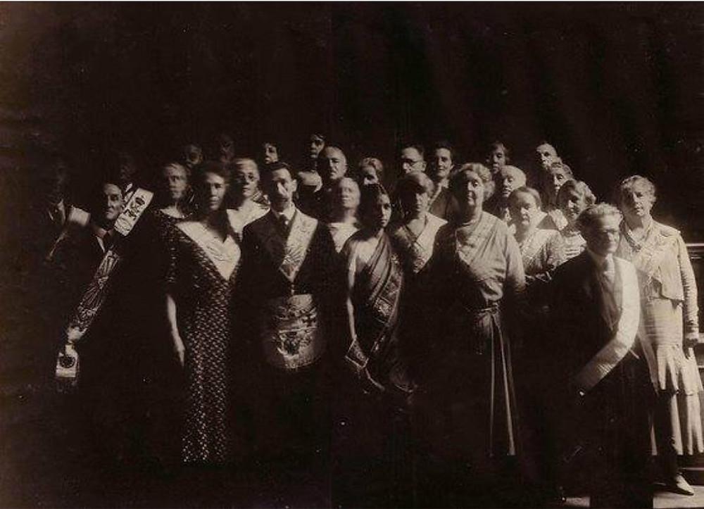 Maçonaria - Uma fotografia inédita | Ano: 1930