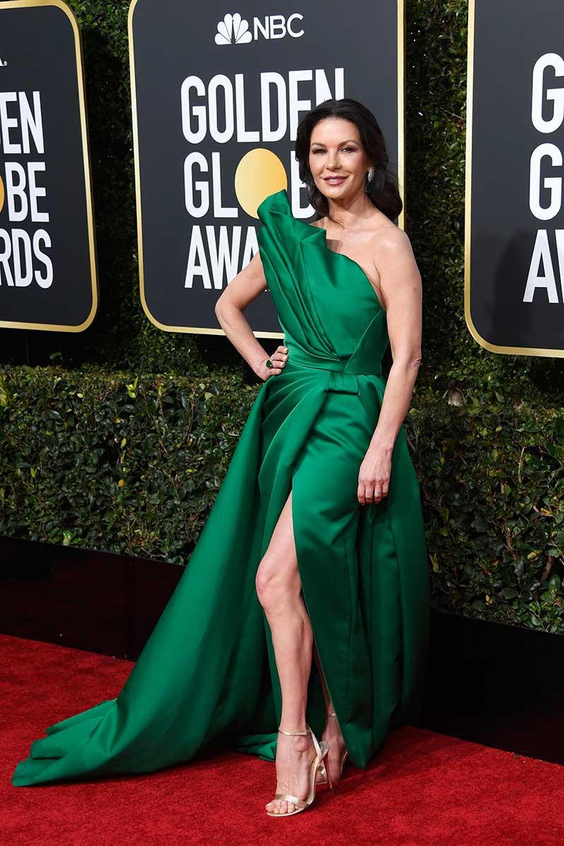 Catherine Zeta-Jones Golden Globes