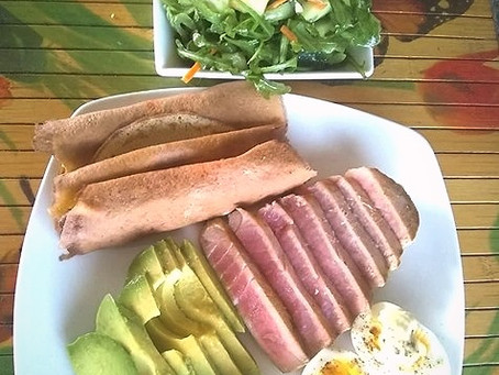 Another Healing High Omega-3 Lunch by Chef Janine