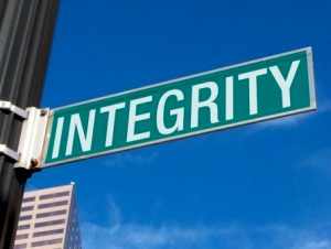Integrity: Where has it gone?