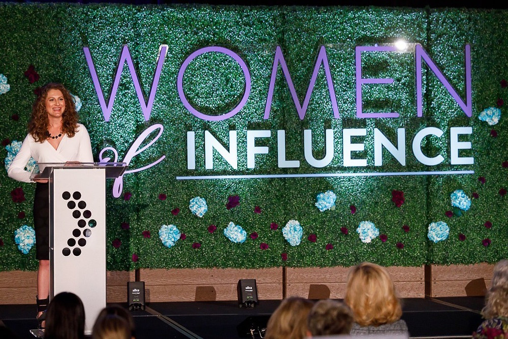 Keynote speaker Michelle Wulfstieg, 2020 Women of Influence