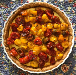 Ricotta Tart from An Everlasting Meal by Tamar Adler prepared by MaryLou