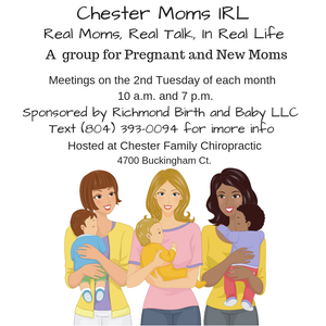 Mom to Mom group in chester, VA