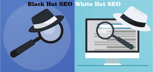 what are black hat and white hat seo techniques?