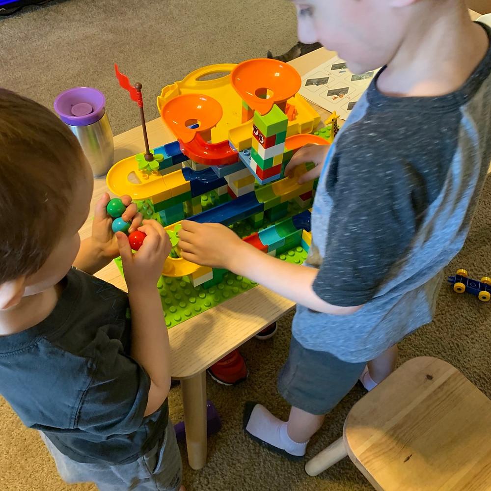 marble, run, block, set, building, blocks, duplo, lego, toddler, toys, kids