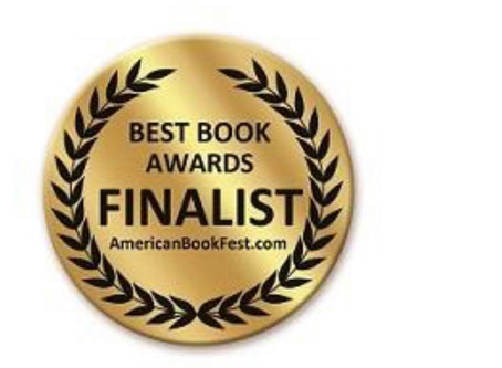 Honoured to be a finalist for both my books at the 2018 American Book Festival.