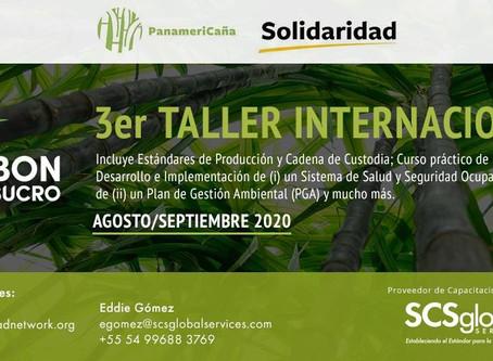 3er Taller Internacional Bonsucro