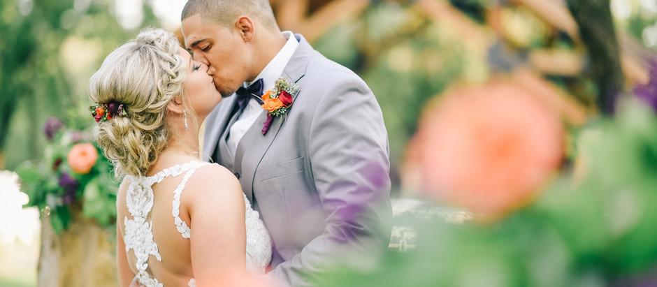 Amber & AJ | A Springs Event Venue Wedding | The Lodge