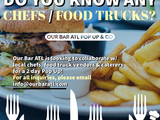 Our Bar ATL: Atlanta's Pop-Up Chefs & Food Entrepreneurs!