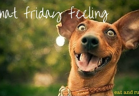 That Friday feeling.