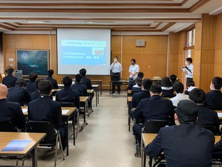 会社ガイダンス@茨城県立海洋高等学校