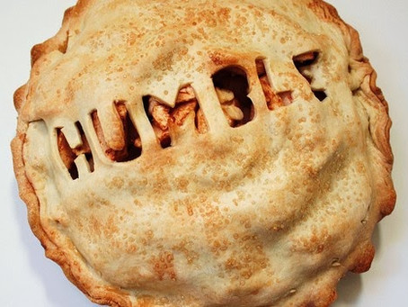 Ministers Monday Moment - eating humble pie