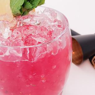 Blueberry Bourbon Smash - time to start summer!