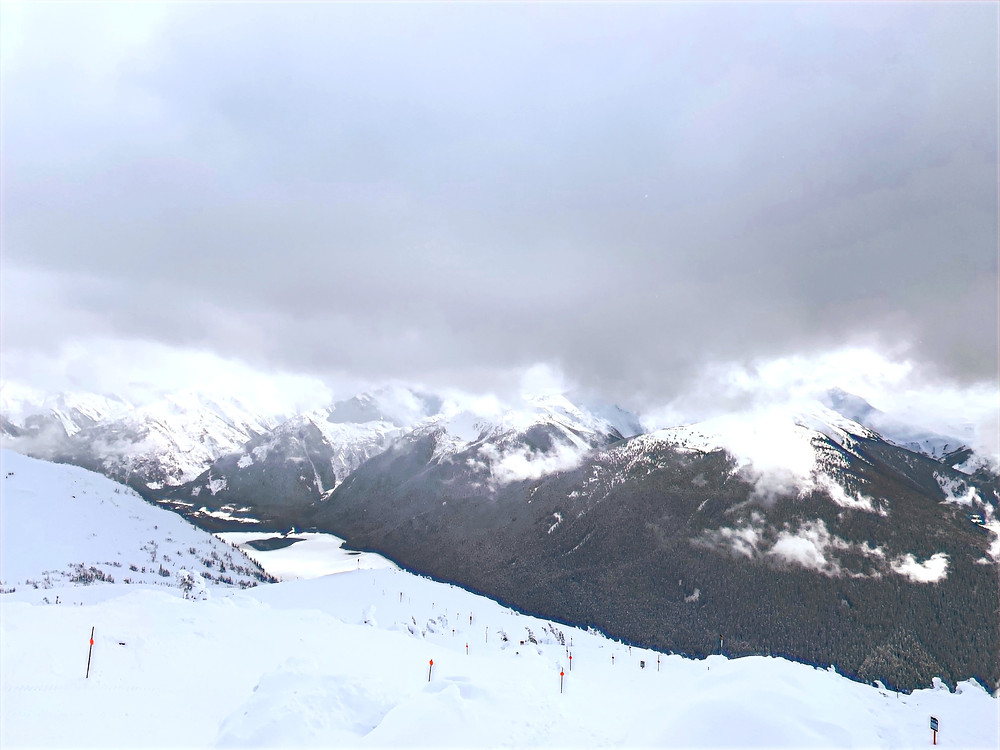 The View from Whistler Mountain in British Columbia, Canada