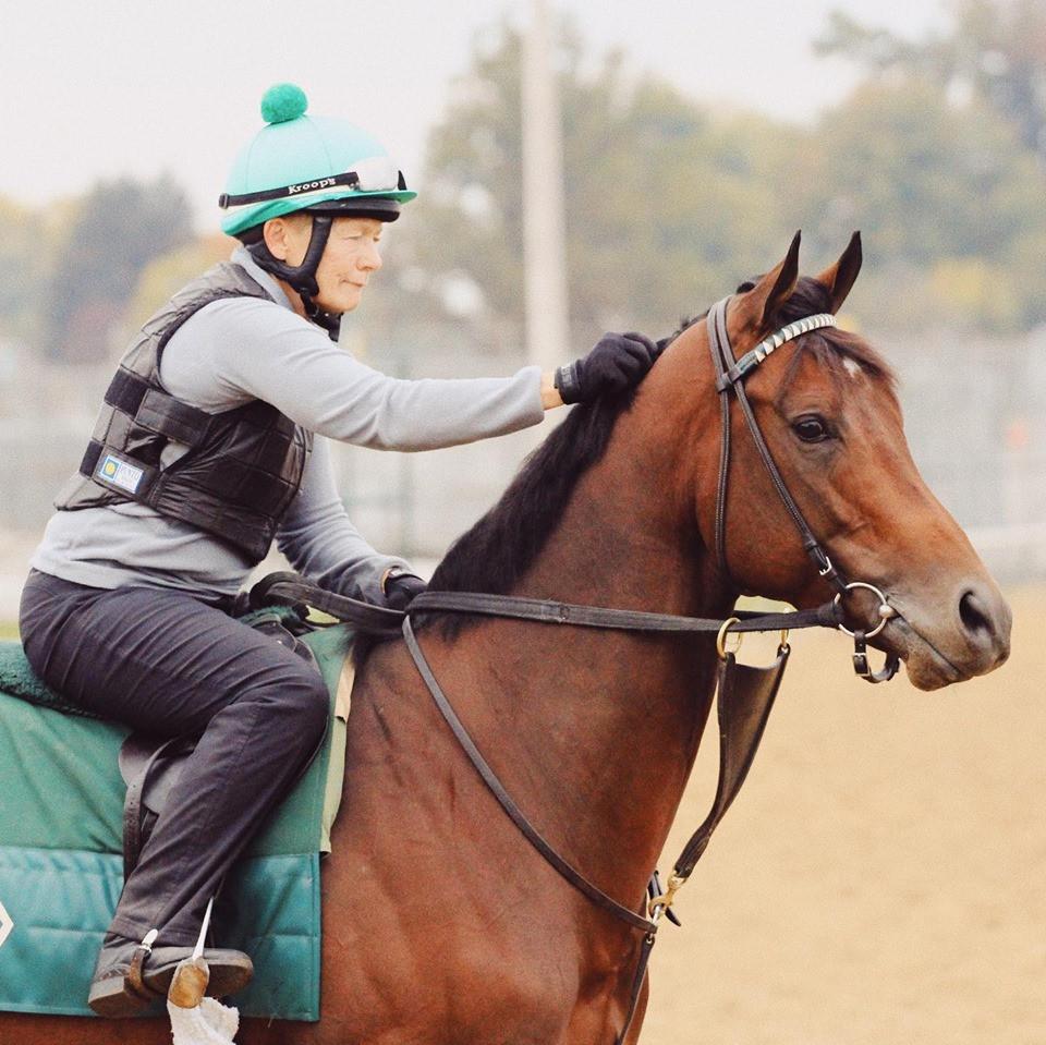 Horse racing at Churchill Downs. Photo by Cady Coulardot