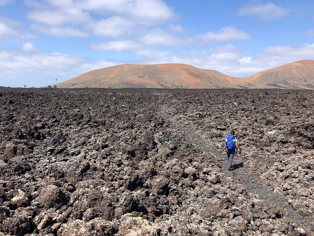 Il deserto di lava di Lanzarote