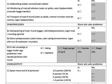 Endelig-artiklen om de psykometriske aspekter af MEOF-II anvendt til ældre medicinske patienter