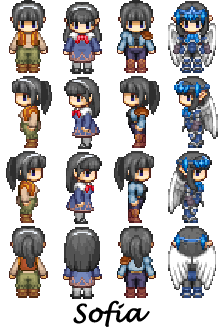 WIP Character Sprites