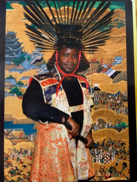 Kobby as Hideyoshi-sama - the Lord of the Osaka