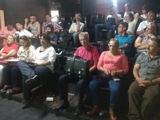 Asocomunal en La Candelaria, Medellín