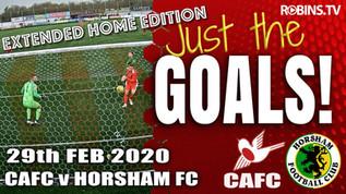 Just the Goals - Horsham