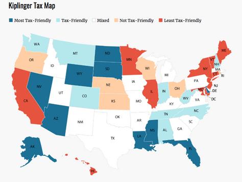 Tax comparison across States