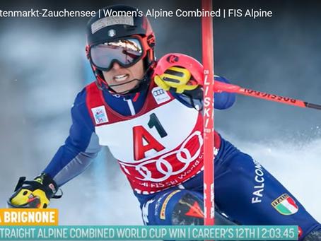 Federica Brignone Wins Altenmarkt-Zauchensee Alpine Combined