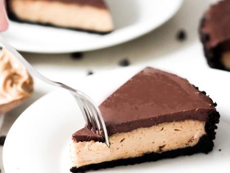 Vegan Peanut Butter Chocolate Tart
