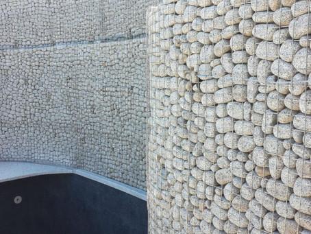 Gorgeous Pool-Side Stone Wall Cladding in Sardinia